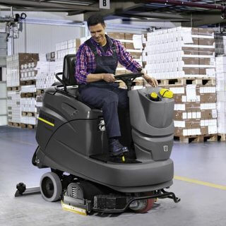 Karcher 65/90 Scrubber Dryer - Ride-on